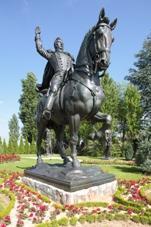Statue de général Alvear.