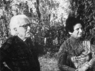 Michel Dufet et Rhodia Dufet-Bourdelle.