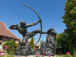 Héraclès archer - Musée-jardin départemental Bourdelle.