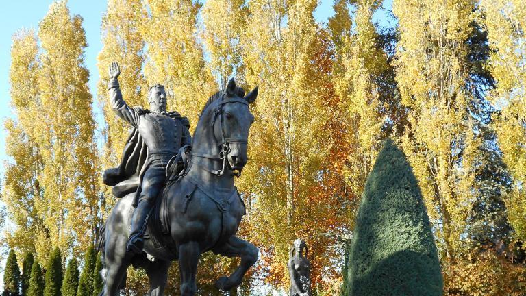 Statue équestre du Géneral Alvear 1913-1923 - Bronze